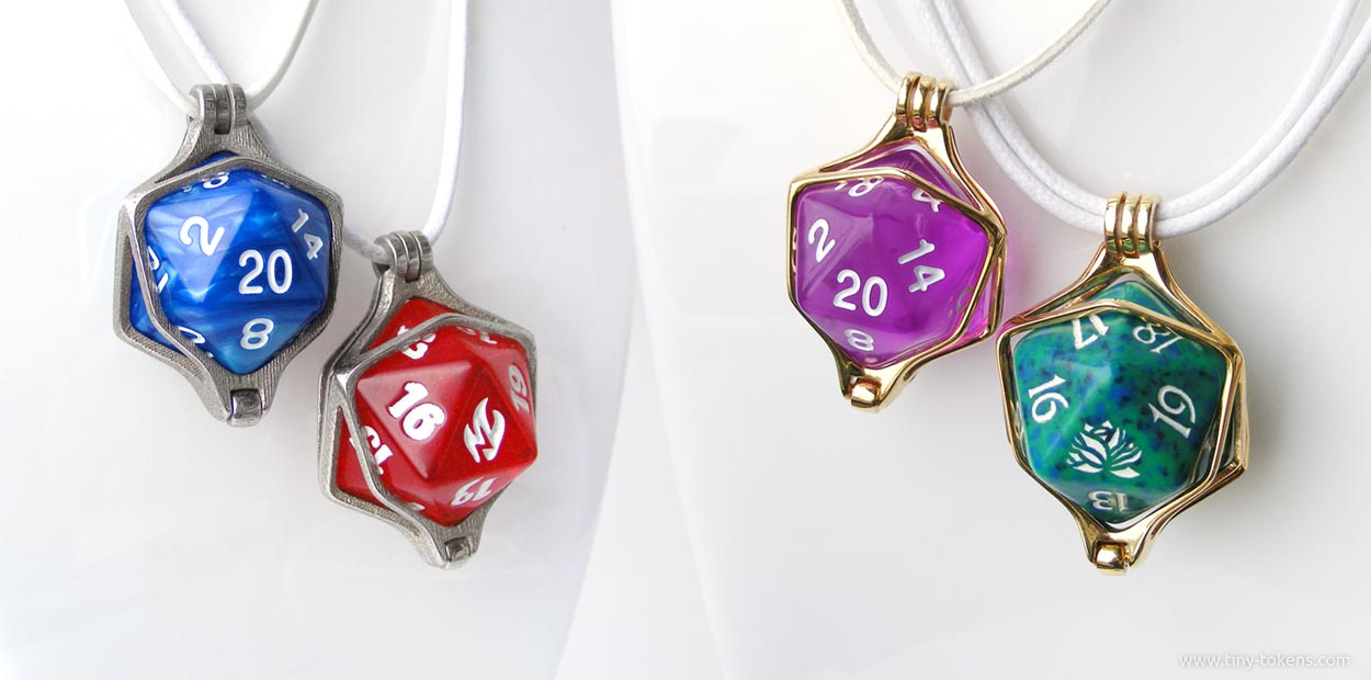 Dice pendants