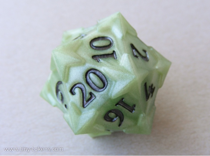 tinytokens_resincast_starry_d20_halloween_green_01_graphite